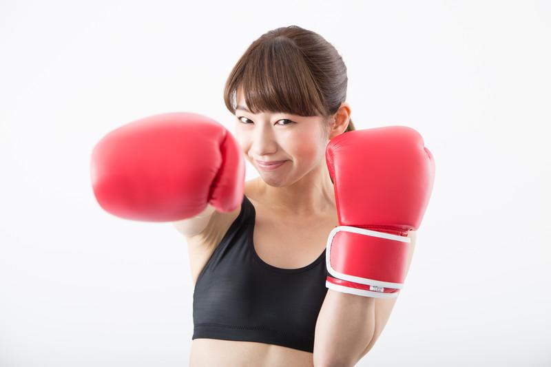 女性ボクサー